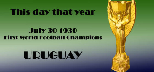 This day that year_30th July 1930_uruguay_winners