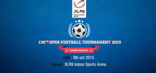 XLR8 136th open tournament