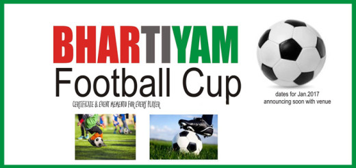 bharatiyam football cup jan 2017